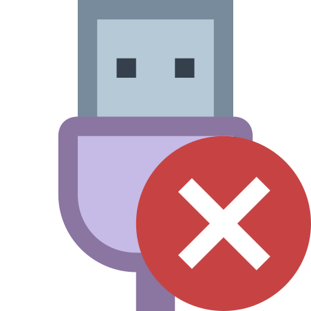 USB Disconnected icon