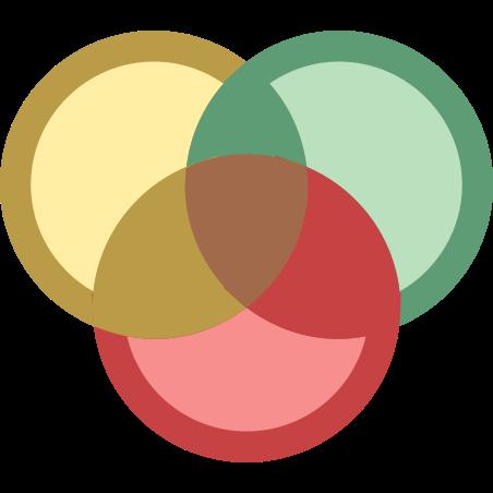 벤 다이어그램 icon in Office XS