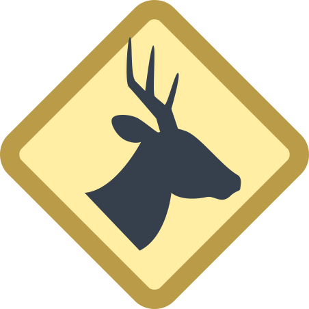 Wild Animals Sign icon in Office XS