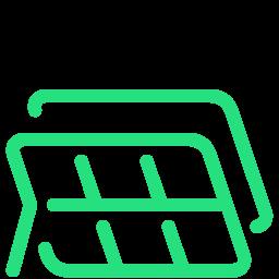 -solar-panels icon