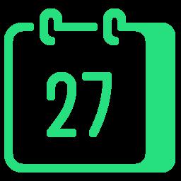 calendar 27--v3 icon