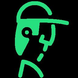 farmer male icon
