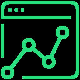 web analystics icon