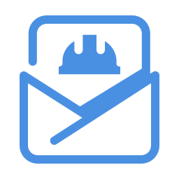 construction mail-open icon