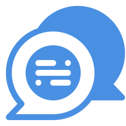 filled chat icon