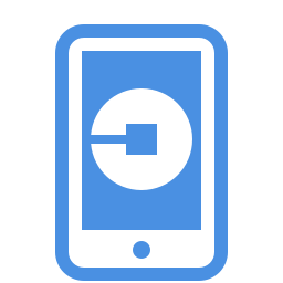 uber mobile-app icon