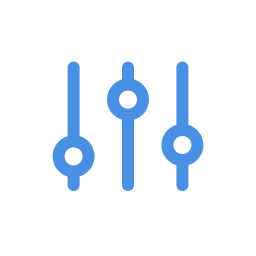 vertical settings-mixer icon