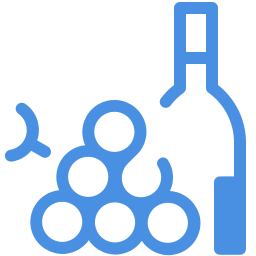 wine and-grapes icon