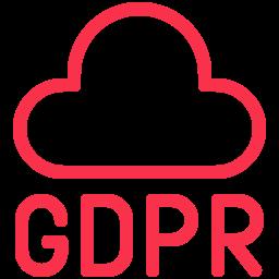 gdpr cloud icon