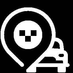 taxi rank icon