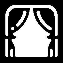 theatre curtain icon