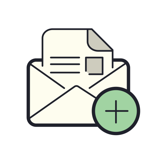 Add Open Envelope icon
