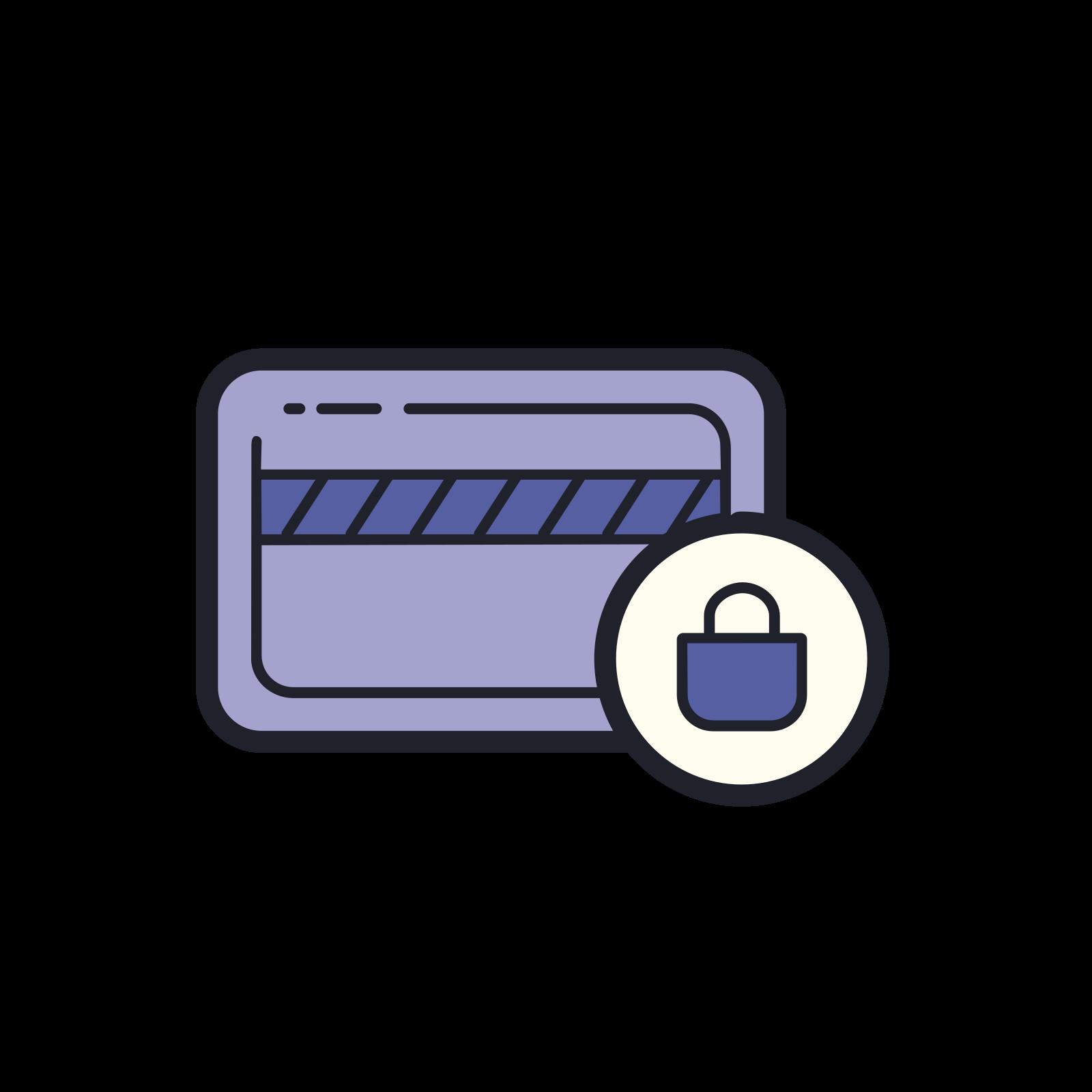 Seguridad de la tarjeta icon