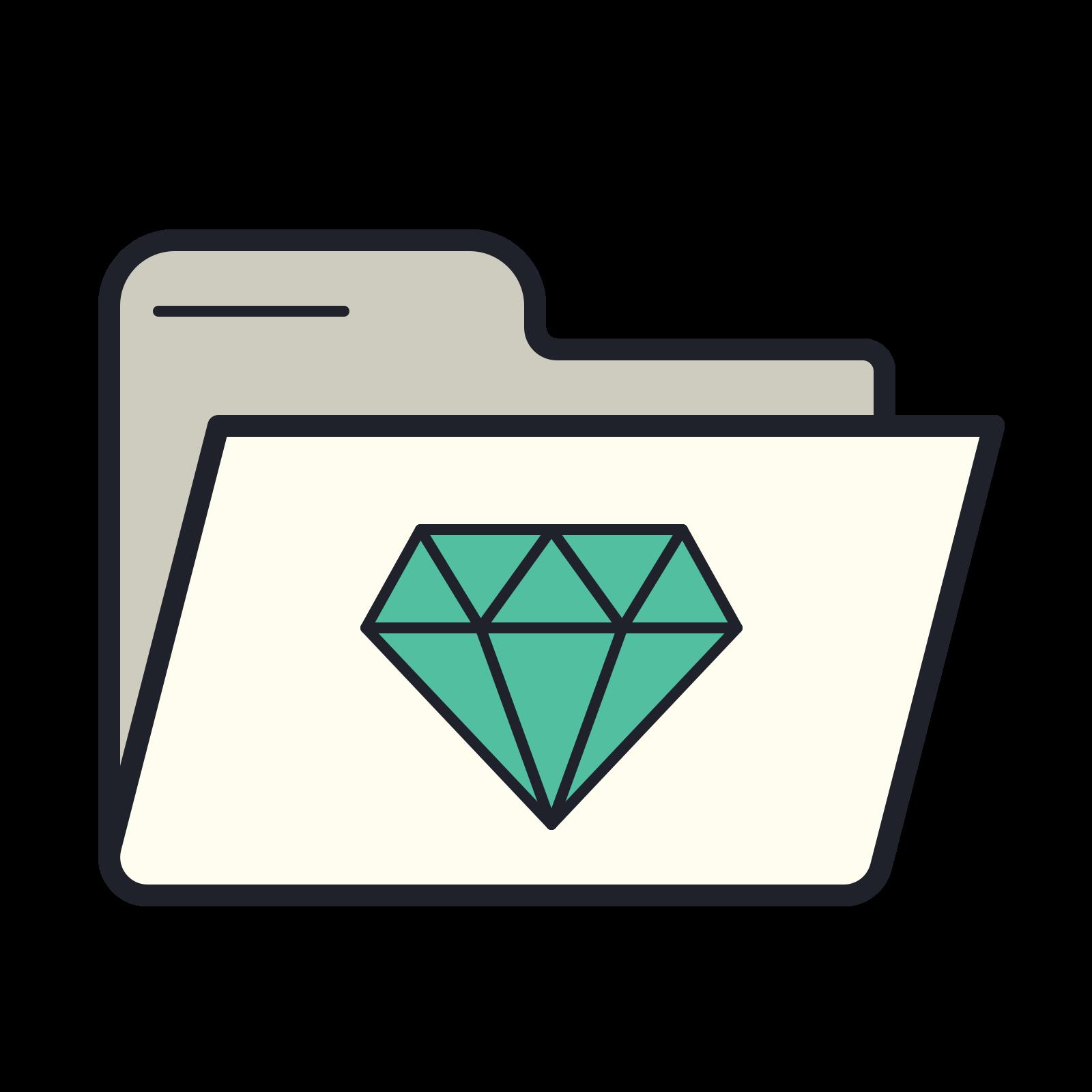 Gem Folder icon