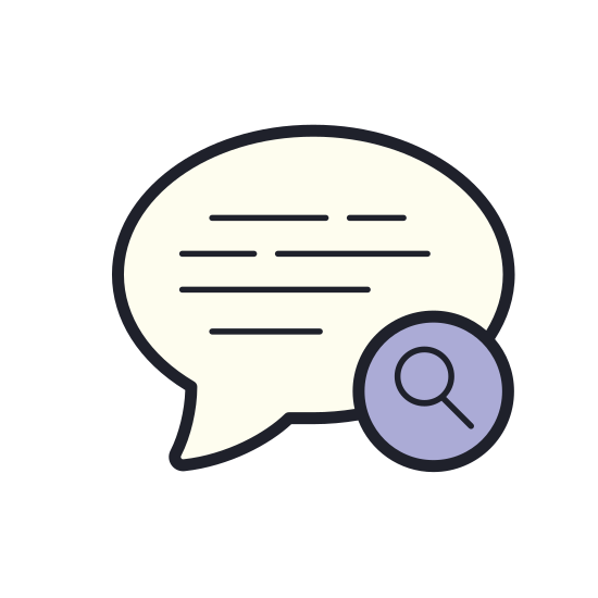 Search Chat icon