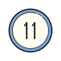 11 Circled icon