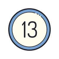 13 Circled icon