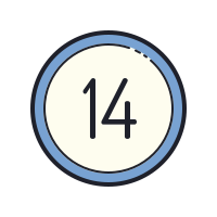14 Circled icon