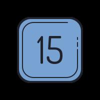 15 C icon