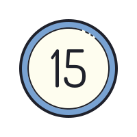 15 Circled icon