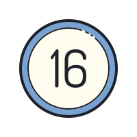 16 Circled icon