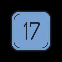 17 C icon