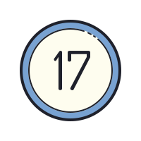 17 Circled icon