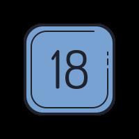 18 C icon