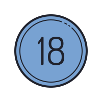 18 Circled C icon