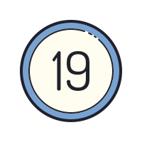 19 Circled icon