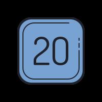 20 C icon