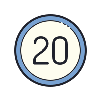 20 Circled icon