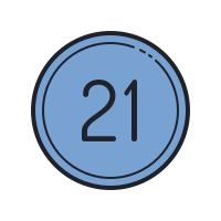 21 Circled C icon