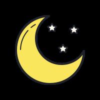 bright moon icon