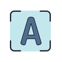 printed ocr icon