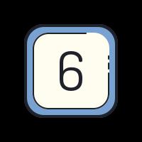 6 icon