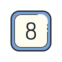 Number Eight icon