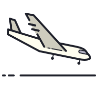 Atterrissage d'avion icon