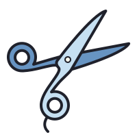 Barber Scissors icon