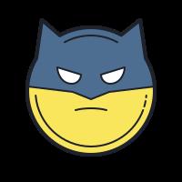 Бэтмен эмодзи icon