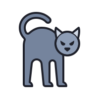 Chat noir icon