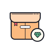 Diamond Package icon