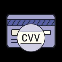 Code de vérification de carte bancaire (CVV) icon