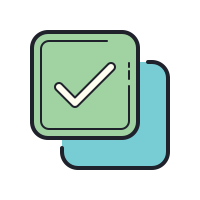 Checked Check Boxes icon