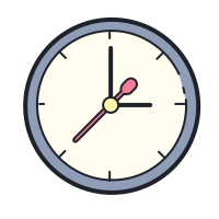 Clock Icons - Free Download, PNG and SVG