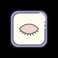 Geschlossenes Auge icon