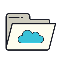 Cloud Folder icon