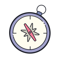 Compass Outline icon