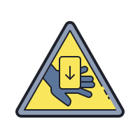 Entrapment Hazard icon
