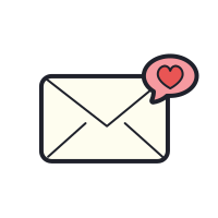 Envelope Love icon